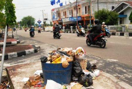 perda bengkalis buang sampah