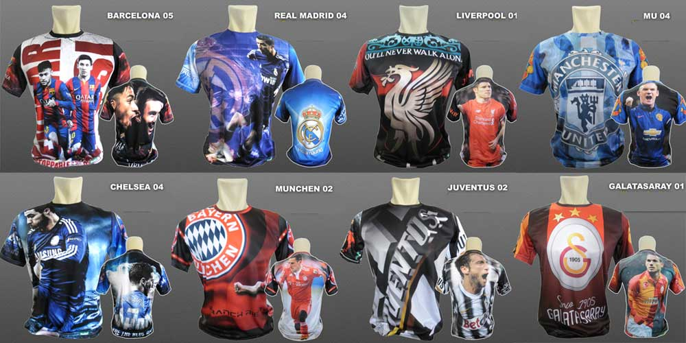 Kaos olahraga terbaru