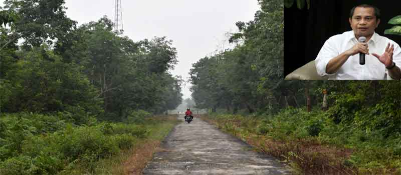 jalan di desa