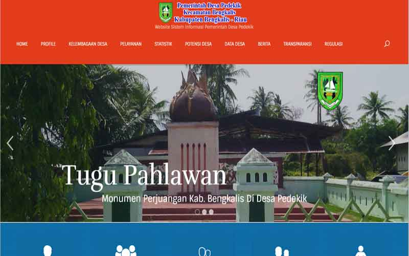 Template Website Desa