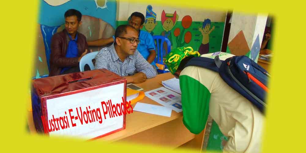 e-voting pilkades