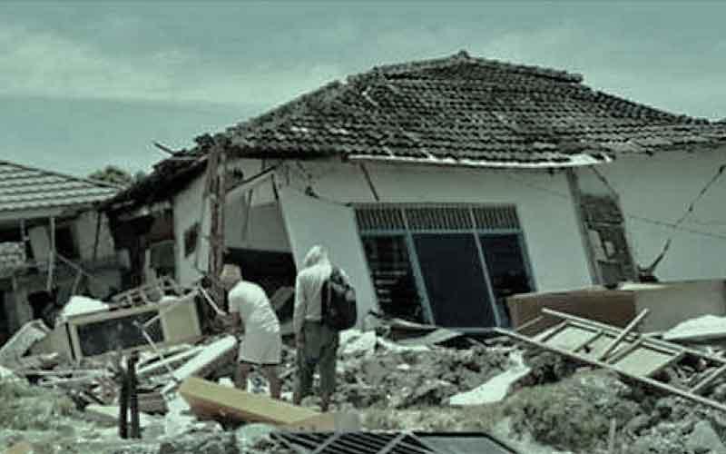 puing gempa tsunami