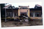 kantor desa terbakar