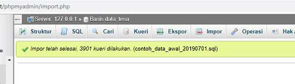 basis data opensid